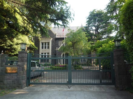 タイ大国大使公邸①