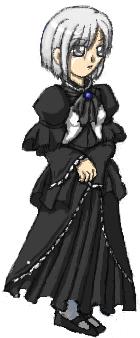 例のドレス……?