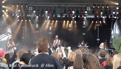 Ensiferum Myötätuulirock 15.06.08
