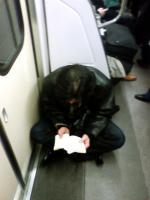 電車で迷惑