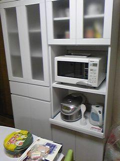 食器棚&レンジボード