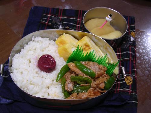 10日のお弁当