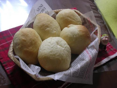 米粉入りのりんごジャムパン