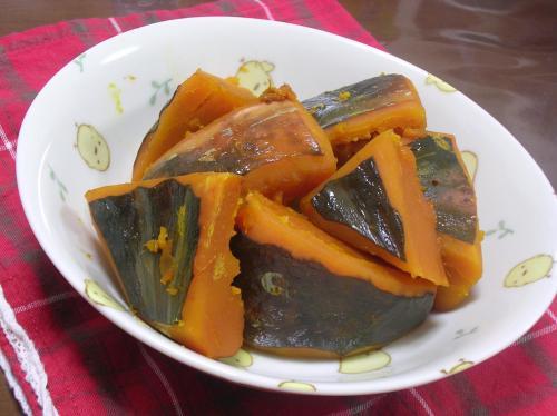 かぼちゃの塩煮(まめちゃんレシピ)