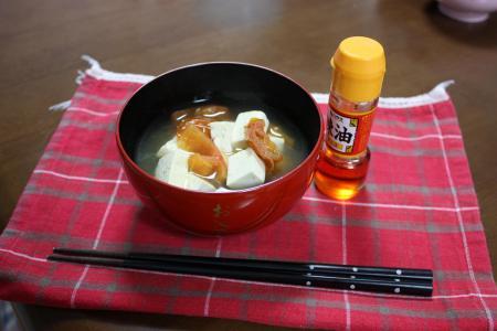トマトの中華風スープ