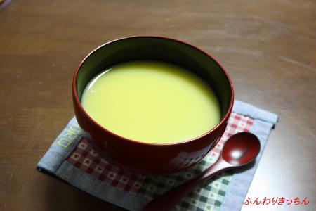 有名シェフのとうもろこしの冷製スープ