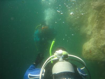 水深10m透明度は3~5m