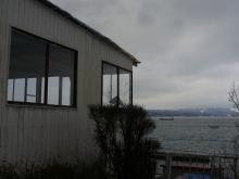 海を見渡せるお店