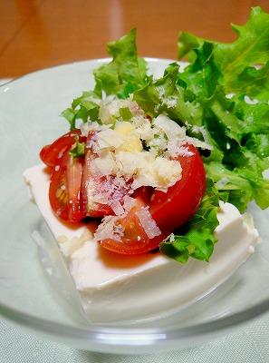 080723豆腐サラダ