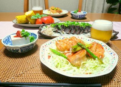 080806夕食