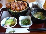 ソースかつ丼定食