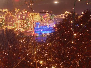 光の町と光の機関車