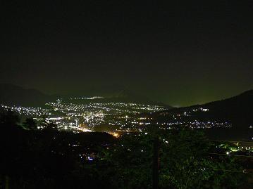 夜景(安方面)