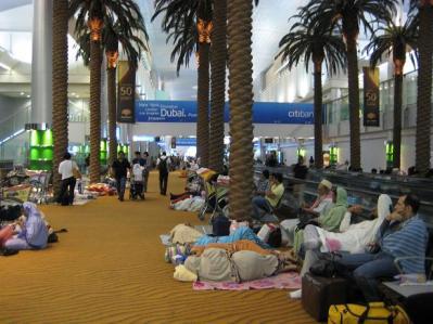 ドバイ国際空港①