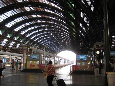 2011年・夏 ミラノ中央駅③