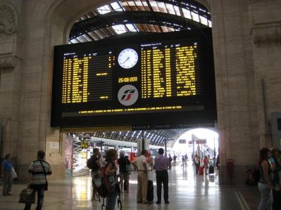 2011年・夏 ミラノ中央駅②