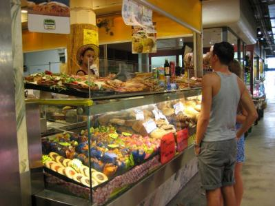 2011年・夏 フィレンツェ中央市場⑤