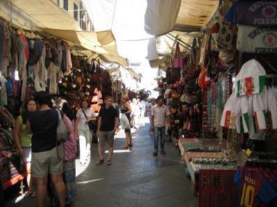 2011年・夏 フィレンツェ中央市場①