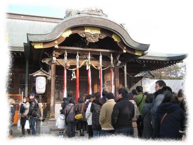 2012年1月1日海神社へ初詣