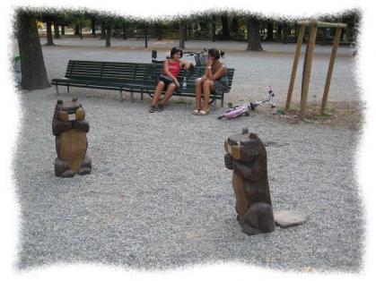 2011年8月25日ミラノの公園
