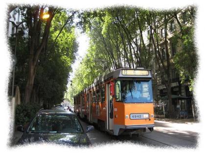 2011年8月24日ミラノの路面電車
