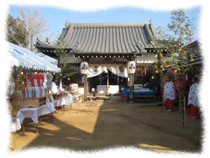 2012年1月11日稲爪神社②