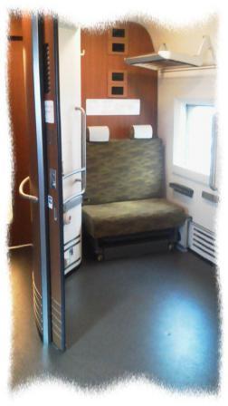 2012年3月九州新幹線の多目的室