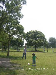 公園にいきました