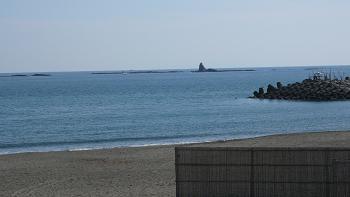 海まで徒歩9分