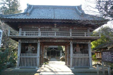 佐竹寺の仁王門