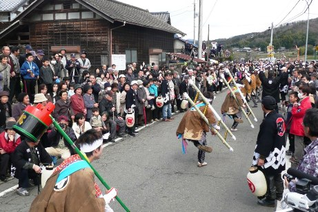 町田火消行列繰込み