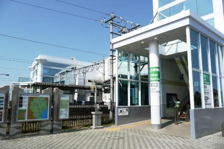 JR東海駅東口前