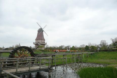 風車と水車