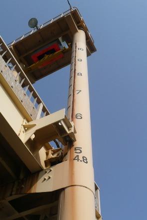 10mまで上昇する歩道橋