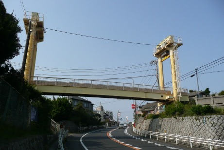 同様の河原子歩道橋