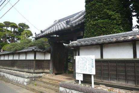 稲吉宿本陣の外壁