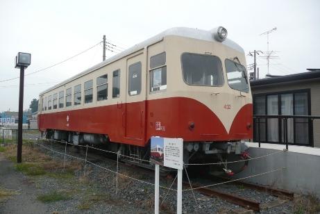 キハ432の展示