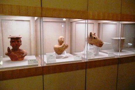 2階の歴史展示資料室