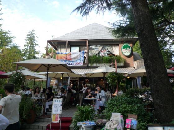 ステキなカフェ@日比谷公園