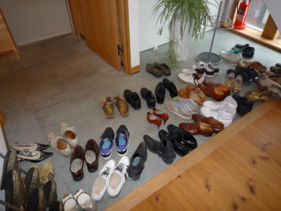 すごい数の靴・・・笑