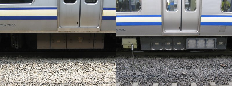 左:CanonPowerShotA700・(6mm)・オート(1/60/F3.5/感度オート)・トリミング 右:CanonPowerShotA700・(6mm)・オート(1/25/F2.8/感度オート)・トリミング