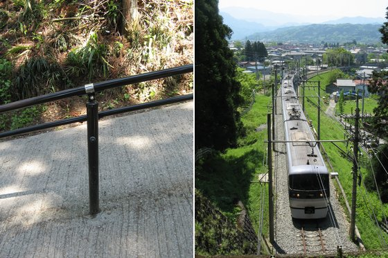 左:CanonPowerShotA700・(6mm)・オート(1/60/F3.5/感度オート) 右:CanonPowerShotA700・(8mm)・Tv優先(1/400/F5/感度オート)