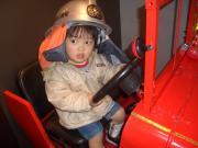 小さい消防士さん