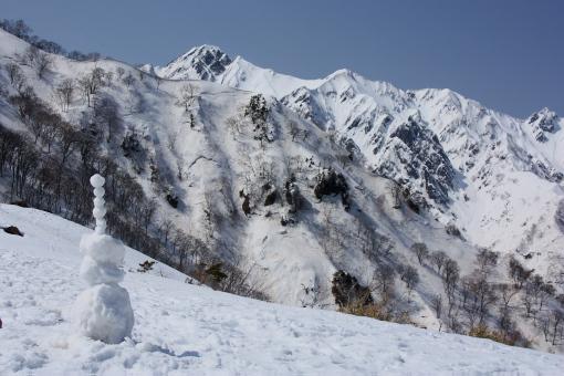 五竜岳'09.03.21-1