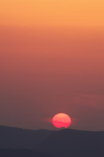 屋島の夕景'09.04.02-2