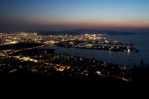 屋島の夜景
