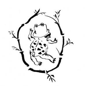 洩矢諏訪子『鳥獣戯画』