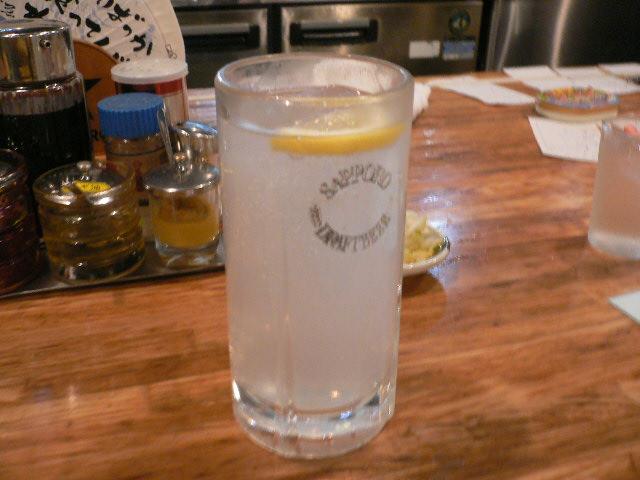 レモンサワー♪