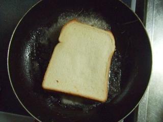 バター焦げやすいんであんまり強火にしないでね