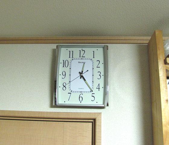 マルマン掛け時計